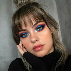 makeup inspo eye makeup step by step makeup jewels makeup makeup shields makeup and contacts eye makeup remover makeup glitter Makeup Dupes, Glam Makeup, Skin Makeup, Makeup Inspo, Eyeshadow Makeup, Makeup Inspiration, Makeup Ideas, 80s Eye Makeup, Jewel Makeup
