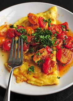 asian style breakfast omelet: recipe here foodopia: Breakfast Dishes, Breakfast Time, Breakfast Recipes, Breakfast Ideas, International Recipes, Brunch Recipes, Favorite Recipes, Yummy Food, Healthy Recipes