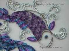 quilled koi fish-- so cool