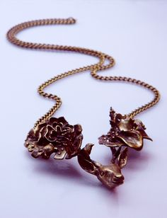 """Onírico"" Necklace. Brass"