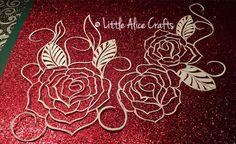 Three Rose Template, £5.00