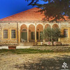 A unique amazing over a 100 year old house in #Baakline! By Faten Bou Ajram  #Lebanon #WeAreLebanon