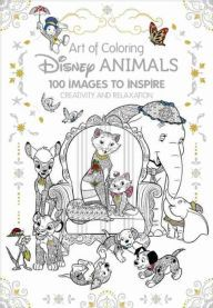 Book Art Of Coloring Disney Animals 100 Images To Inspire Creativity And Relaxation By Catherine Group