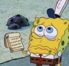 50 ideas memes de amor bob esponja for 2019 Mood Wallpaper, Cartoon Wallpaper, Iphone Wallpaper, Cartoon Pics, Cute Cartoon, Avakin Life, Snapchat Stickers, Spongebob Memes, Spongebob Squarepants