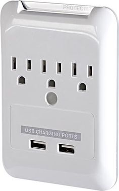 Targus - Plug-N-Power Charging Station with USB Charging Ports - White - APA21US - Best Buy