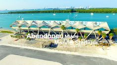 Abandoned Miami Marine Stadium in 4K    Aerial Photography    DJI Phanto...