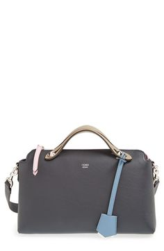 Fendi Small By the Way Colorblock Leather Shoulder Bag