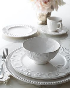 20-Piece Estate Dinnerware Service at Horchow. #HorchowHoliday14