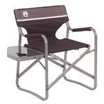Aluminum deck chair - Coleman, Deck chair with table - Coleman, Packable deck chair - Coleman, Comfortable deck chair - Coleman
