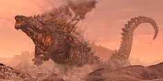 ArtStation - Godzilla Mars, Elden Ardiente