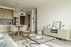 Flats For Sale, Staging, Budapest, Oversized Mirror, Dining Table, Furniture, Home Decor, Role Play, Decoration Home