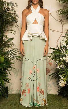 Get inspired and discover Johanna Ortiz trunkshow! Shop the latest Johanna Ortiz collection at Moda Operandi. Look Fashion, Runway Fashion, Fashion Show, Womens Fashion, Fashion Design, Fashion Trends, Look Formal, Mode Inspiration, Marie