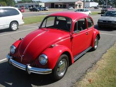 My first set of wheels was a cherry red '69 Volkswagon Beetle.