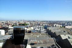 Bar Gravity en la Guinness Storehouse