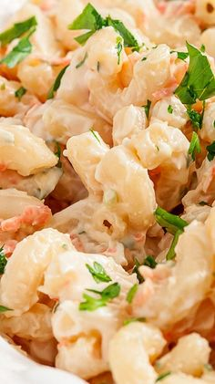 Hawaiian Macaroni Salad (L&L BBQ Copycat) _ I'm not even a mac salad type of gal, but this one is ridiculously yummy. It's pretty much the only mac salad I'm into. Here's to many more warm summer days with plenty of backyard cookouts. And taking every opportunity to dish it up Island style!
