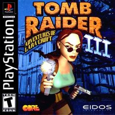 Buy the complete Tomb Raider III Adventures Of Lara Croft Greatest Hits Sony Playstation 1 used video game available for sale. Playstation 2, Tomb Raider 3, Tomb Raider Lara Croft, Neo Geo, Resident Evil, Poker, Lara Croft Game, Castlevania, Mundo Dos Games