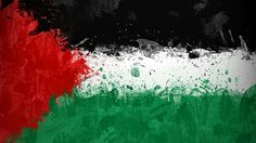 Palestine flag art