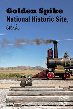 Golden Spike National Historic Site in Utah is worth the drive to get out there! Great history and some awesome trains.