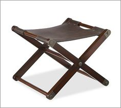Chase Sling Stool. 2 at rot of king bed