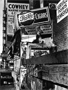 William Klein, William Klein, Près des docks, Manhattan