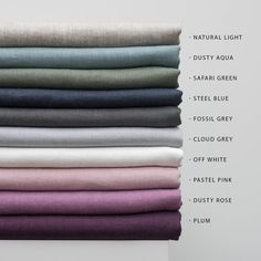 Samples of Linen fabric,Samples of Softened linen fabric by yard,Natural Linen Fabric Sampling,Stonewashed Linen Swatches,Pure Linen Samples Linen Couch, Linen Pillows, Linen Fabric, Linen Bedding, Bed Linens, Bedding Sets, Lino Natural, Natural Linen