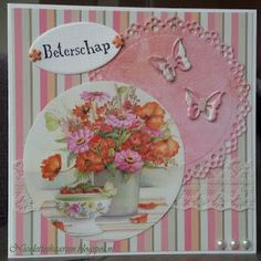Nicolette's kaarten Handmade Cards, Birthday Cards, Decorative Plates, Card Making, Album, 3d, Chic, Simple, How To Make