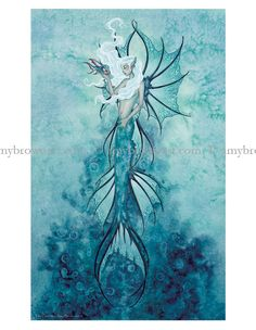 PRINTS-OPEN EDITION - Mermaid Prints - Amy Brown Fairy Art - The Official Gallery
