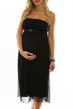 black maternity holiday dresses