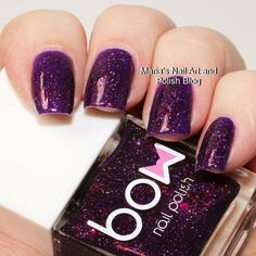 The gorgeous @bowpolish Zodiac is on my blog today just follow the blog link in my bio to see more photos of it and read the entire review. You also find swatches of hundreds of other indies. To see all my swatches of this brand here on IG click this hashtag: #bowpolishonmariasnailartandpolishblog #nailstagram #nails #instanails #nailpolish #manicure #swatches #ournailworld #naturalnails #notd #npa #nailporn #nailblogger #nagellack #neglelak #vernis #varnish #lacquer #smalto…