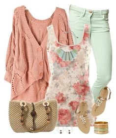 """""""Floral Top 3"""" by daiscat ❤ liked on Polyvore featuring A