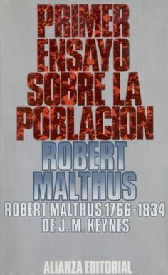 0015 R. Malthus. Primer ensayo sobre la población