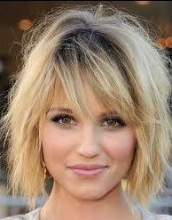 Dianna Argon short messy bob
