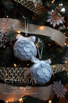 nutmeg creations: Gift Box and Ornaments - Stampin' UP Artisan Blog Hop