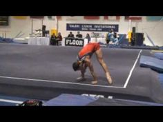 Dom Palange Universal Gymnastics on Weller Spring Floor at Valeri Liukin Invite 2009.mp4 - YouTube