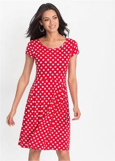 0db4850854b7 Úpletové šaty z džersej S trendovou • 19.99 € • bonprix
