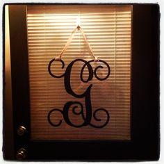 My new front door decor....