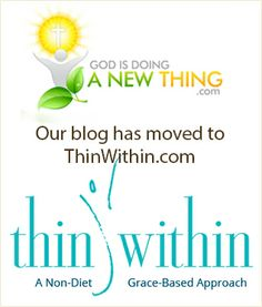 If you have been a follower of my Thin Within blog for any length of time, please don't be surprised to find it is now integrated with the new Thin Within website. Great news! :-) All kinds of support in one place. :-)