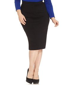 ING Plus Size Midi Skirt - Plus Size Skirts - Plus Sizes - Macy's