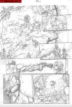 Kwan Chang :: For Sale Artwork :: Ultimates 3 # 1 by artist Joe Madureira