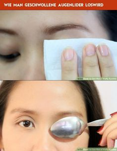 Wie man geschwollene Augenlider loswird Pearl Earrings, Pearls, Wearing Glasses, Eye Drops, Soft Towels, Sunscreen, Contact Lens, Pearl Studs, Beads
