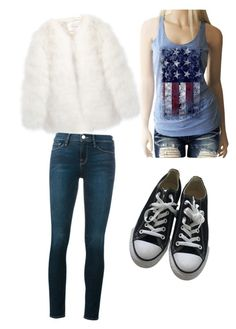 """""""Todd Brotzman"""" by royalthompson ❤ liked on Polyvore featuring Stine Goya, Converse and Frame"""
