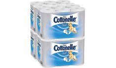 48-Rolls Kleenex Cottonelle Ultra Soft Bathroom Tissue $19.99 (staples.com)