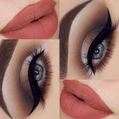 Perhaps a little more pink or red on the lips. Otherwise this is lovely!