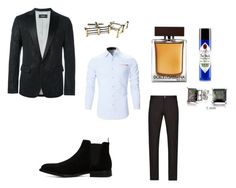 """Untitled #6"" by kiyaah on Polyvore featuring Dsquared2, Emporio Armani, ALDO, Dolce&Gabbana, Jack Black, Bling Jewelry, Tiffany & Co., men's fashion and menswear"