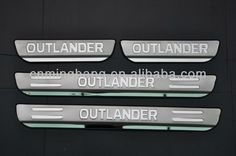 factory sell 2014 OUTLANDER DOOR SILL with led and without led