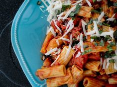 Fire-Roasted Tomato, Hot Sausage, and Beef Rigatoni Baby Food Recipes, My Recipes, Pasta Recipes, Whole Food Recipes, Favorite Recipes, Healthy Recipes, Good Food, Yummy Food, Tasty