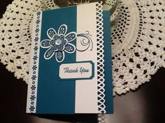 Made with CTMH Pretty Petals stamp set
