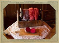 Textilien färben mit Roter Beete - http://www.wilde-farben.de