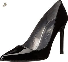 Stuart Weitzman Women's Tara Black Patent Pump 7 W - Stuart weitzman pumps for women (*Amazon Partner-Link)