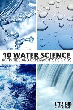 Water Science Activi
